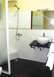 Toilette de l'Hôtel-Restaurant-Bar La Véranda