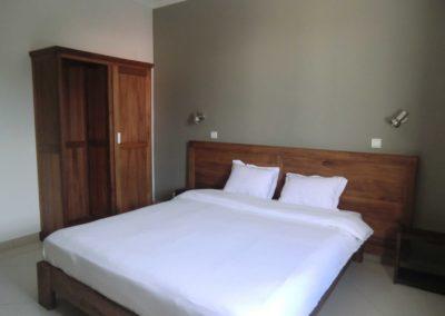 Chambre de l'hôtel La Véranda