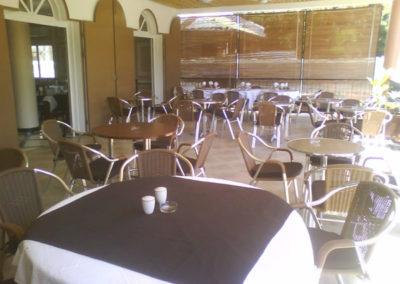 Terrasses de l'hôtel La Véranda